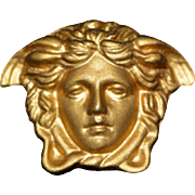 Vintage Signed Gianni Versace Profumi Brooch/Pin 1980-s