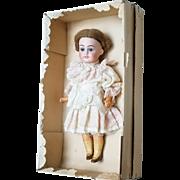 Antique Mignonette in All Original Presentation Box Armand Marseilles Bisque 390 Mold