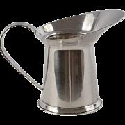 CARTIER Sterling Silver Miniature Pitcher