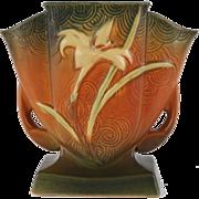 """Roseville – Zephyr Lily 7"""" – Fan Vase - 206-7"""