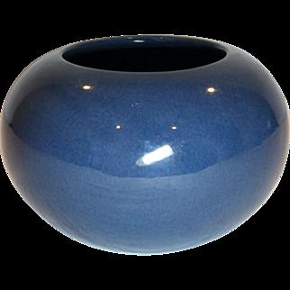 """Roseville – Rosecraft  Blue 5"""" Vintage Vase 94/5"""" 1920's Classic"""