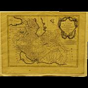 18th century Map of Persia