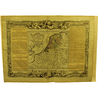 18th century Map of Holland