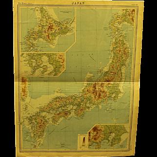 19th century Map of Japan