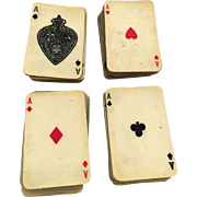 Miniature Playing Poker Cards