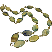 Elegant Victorian Agate Necklace