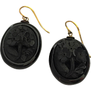 Exceptional Victorian Whitby Jet Mourning Jewelry