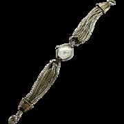 Vintage Ladies Quartz Watch with Sterling Silver Multi-strand Band Southwest Design