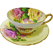 Stanley large rose teacup duo