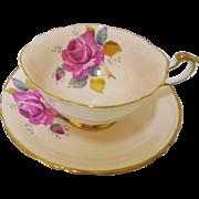 Paragon Rose gold Peach teacup duo