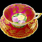 Paragon Mum center teacup duo