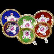 Set of 3 Royal Stafford Bridesmaid Pink rose tea cup and saucer
