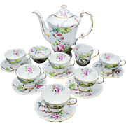 Paragon Princess Margaret Rose Tea service coffee pot cup