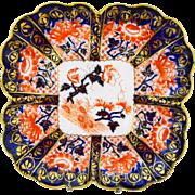 Shelley Wileman Antique imari cake plate platter