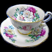 Royal Standard IRISH ELEGANCE tea cup and saucer, roses xx