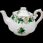Royal Albert England IVY LEA large Tea Pot