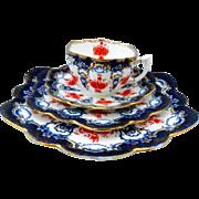 Paragon Aynsley Wileman imari tea cup and saucer trio plus
