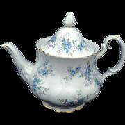 Royal Albert England BLUE BLOSSOM large Tea Pot