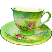 Royal Winton Grimwades CLOVELLO tea cup and saucer