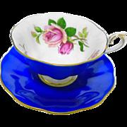 Royal Albert Avon English beauty rose tea cup and saucer