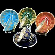 4 Royal Albert Empress gold tea cup and saucer