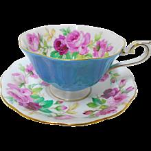Royal Albert Pink Princess Roses avon tea cup and saucer