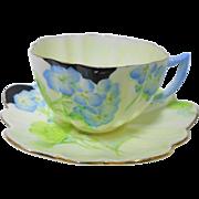 Star Paragon Geranium teacup set