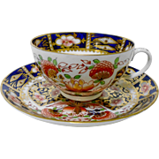 Antique Derby Imari teacup set, c.1825  xx