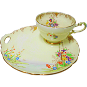 Star Paragon Merrivale Teacup Snack plate duo