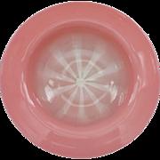 "L C Tiffany FAVRILE PASTEL Opalescent Art Glass 7"" Bowl, Signed"