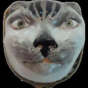 Rare 18th C. Royal Vienna Enamel BONBONNIERE or Patch Box, Tiger