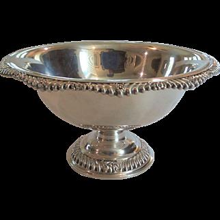 "Gorham Sterling Silver 11"" Pedestal Bowl / Centerpiece #A-1336, 970 Grams"