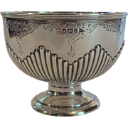 English WALKER & HALL Sterling Silver Candy Dish/Bowl, c. 1896