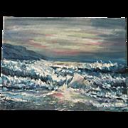Original acrylic- Sunset