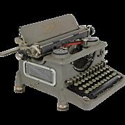 Vintage Map Typewriter