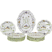 Asparagus Plates and Serving Dish