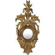 Antique French Sorcerer Mirror / Oeuil de Sorcerer