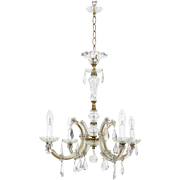 Stunning French Crystal Chandelier