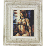 Oil Painting on Wood