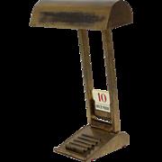 Stunning French Brass Desk Lamp