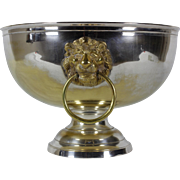 French Vintage Champagne Ice Bowl