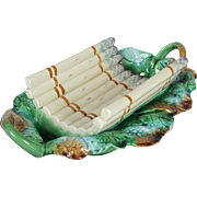 French Antique Asparagus Serving Dish