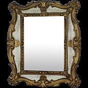 Large Vintage Florentine Mirror