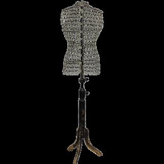 """Vintage Dress Form """"Le Mannequin"""""""