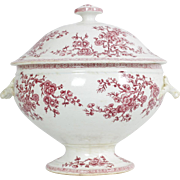 Large Antique French Soup Tureen from Gien