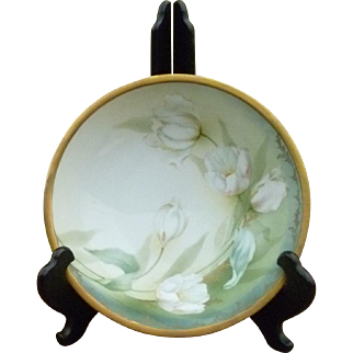 Gorgeous Vintage Hand Painted 10 Inch Serving Bowl
