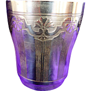 An Antique French Sterling Silver Beaker C.1860 -80