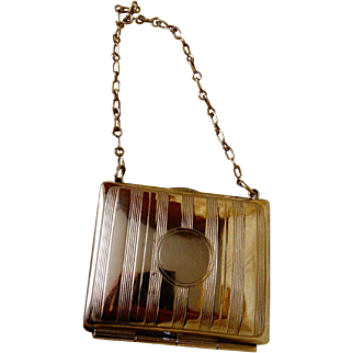 A Charming Edwardian Miniature Dolls Purse/Bag C.1905