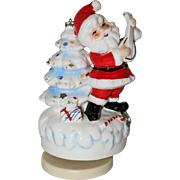 Josef Originals Musical Santa Claus Figure 1960