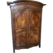 Early 19th century French provincial armoire